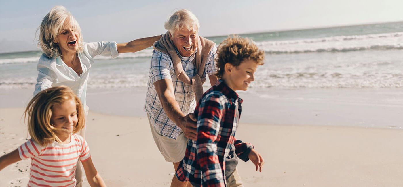 Oma, Opa & Enkel Kurzurlaub: Kinder frei